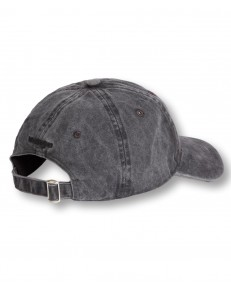 Czapka Wrangler WASHED CANVAS CAP W0V6 Faded Black