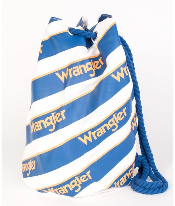 Wrangler B&Y BEACH BAG W0Y06 White W0Y06UI12