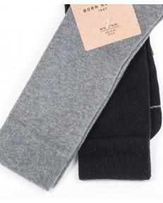 Wrangler Socks 2PACK Black/Grey