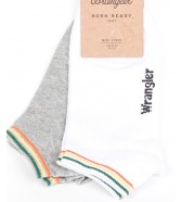 Wrangler Socks 2PACK White/Grey