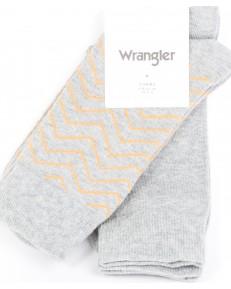Wrangler Socks 2PACK Mid Grey Mel