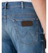 Szorty Wrangler Texas Short W11C De-Lite Blue