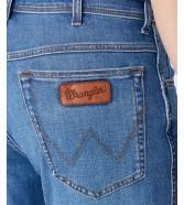 Szorty Wrangler Texas Short W11C Lite Blue