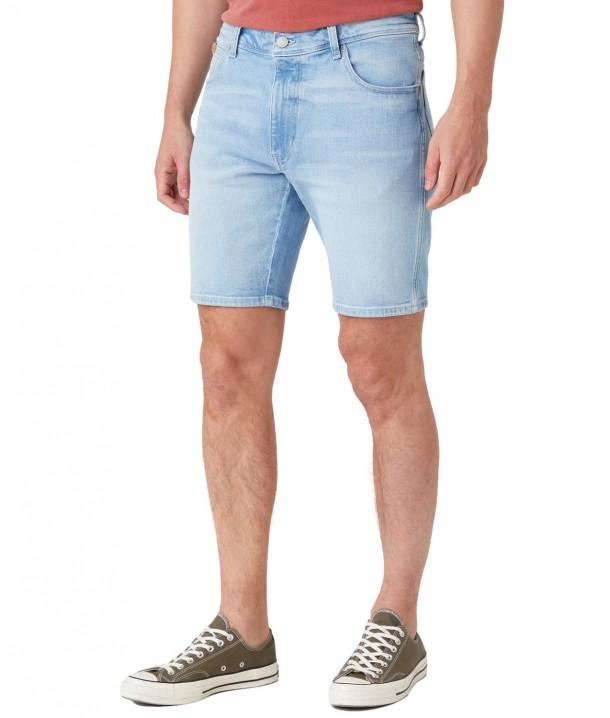 Szorty Wrangler Texas Short W11C Clear Blue