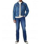 Jeansy Wrangler Texas Slim W12S Blue Silk