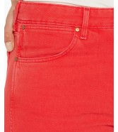 Wrangler Cropped Straight W229 Red