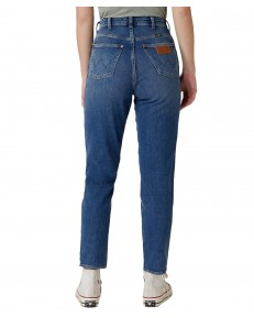 Wrangler Mom Jeans W246 Sand Strom