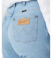 Wrangler Mom Jeans W246 Clear Blue