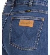Jeansy Wrangler Retro Skinny W253 Broke Blue