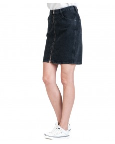 Wrangler HIGH ZIP SKIRT W257 Black Stone