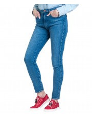 Wrangler High Rise Skinny W27H Pool Blue