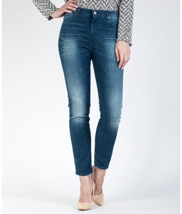 Wrangler Jeans Boyfriend W27M Vintage Blue W27M9185R