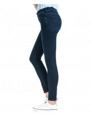 Jeansy Wrangler Skinny W28K Soft Blue