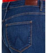 Jeansy Wrangler Skinny W28K Blue Note