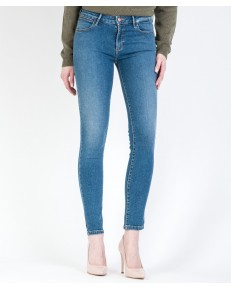 Jeansy Wrangler Skinny W28K Perfect Blue