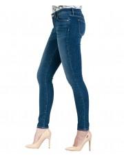 Jeansy Wrangler Skinny W28K Authentic Blue