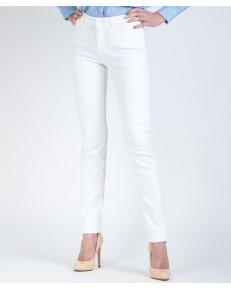 Jeansy Wrangler Slim W28L White