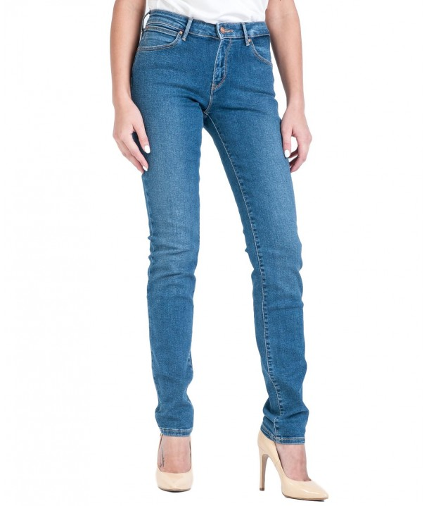 Wrangler Slim W28L Perfect Blue