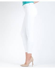 Wrangler Skinny Crop W28M White