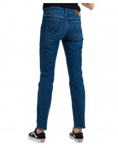 Jeansy Wrangler Straight W28T Airblue
