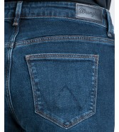 Jeansy Wrangler Straight W28T Tainted Blue