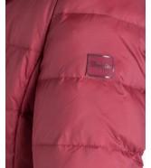 Wrangler Jacket LONG PUFFER W4105 Syrah Red
