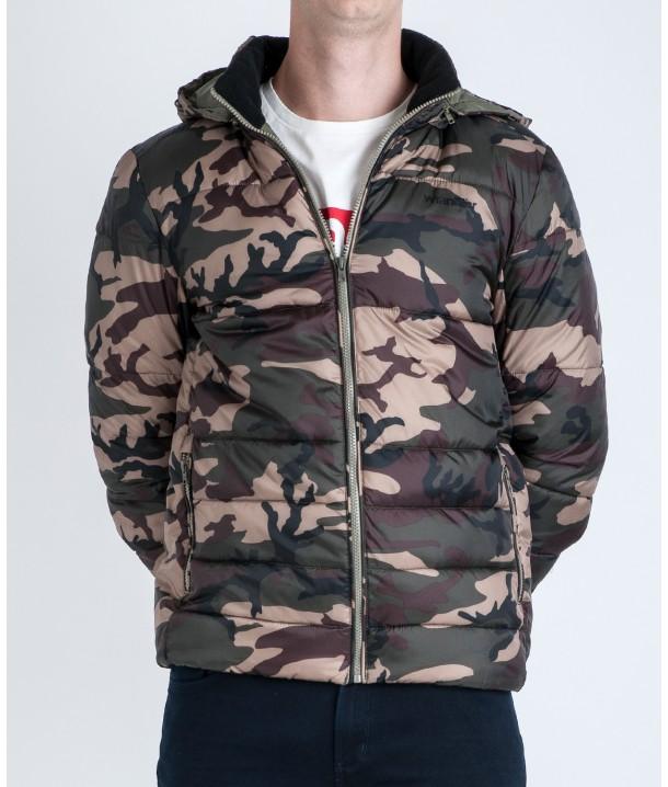 Wrangler PUFFER JACKET W4725 Camouflage W4725X4X3