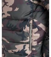 Wrangler PUFFER JACKET W4725 Camouflage