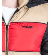 Wrangler 3COL PUFFER JACKET W4729 Clay Beige