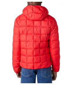 Wrangler THE PUFFER JACKET W4C6W Mars Red