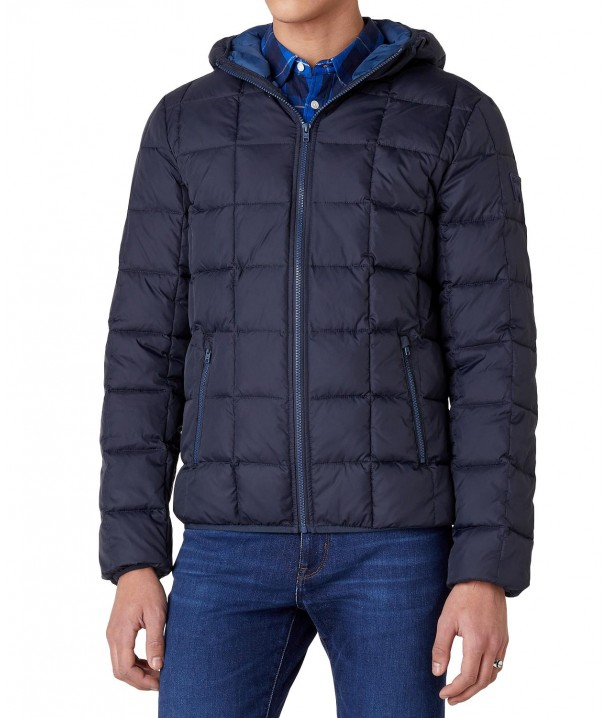 Wrangler THE PUFFER JACKET W4C6W Dark Navy