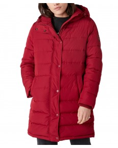 Wrangler LONG PUFFER W4Q4 Rumba Red
