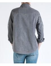 L/S EAGLE DENIM SHIRT W5178 Grey Denim