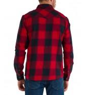 Koszula Wrangler LS WESTERN SHIRT W5A03 Red