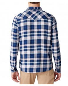 Koszula Wrangler LS WESTERN SHIRT W5A03 Silver Pink