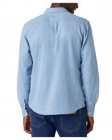 Koszula Wrangler LS 1PKT SHIRT W5A1L Light Indigo