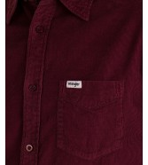 Koszula Wrangler LS 1PKT SHIRT W5A14 Tawny Port