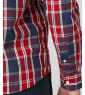 Koszula Wrangler LS 1PKT SHIRT W5A14 Chinese Red