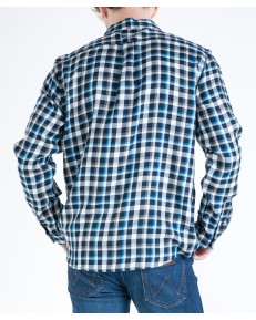 Wrangler LS 1 POCKET SHIRT W5A1B Blue Shadow
