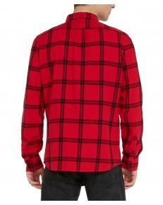 Koszula Wrangler LS 1 PKT SHIRT W5A1S Crimson Red
