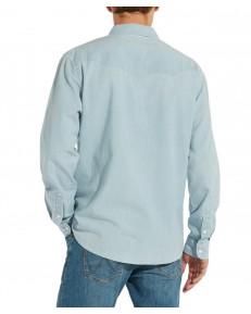 Koszula Wrangler LS WESTERN SHIRT W5A23 Light Stone