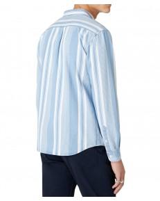 Koszula Wrangler LS 1PKT BUTTON DOWN SHIRT W5A33 Light Indigo
