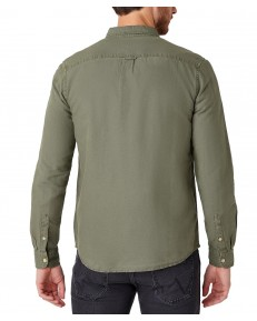 Koszula Wrangler LS 2PKT FLAP SHIRT W5A5L Dusty Olive