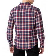 Koszula Wrangler 1PKT BUTTON DOWN SHIRT W5F1 Red