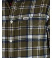 Koszula Wrangler 1PKT BUTTON DOWN SHIRT W5F1 Ivy Green