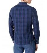 Koszula Wrangler 1PKT BUTTON DOWN SHIRT W5F34 Dark Blue Teal