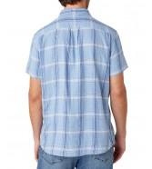 Koszula Wrangler SS 1PKT SHIRT W5J11 Cerulean Blue