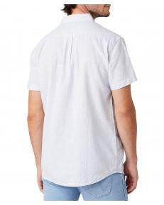 Koszula Wrangler SS 1PKT SHIRT W5J6 Cerulean Blue