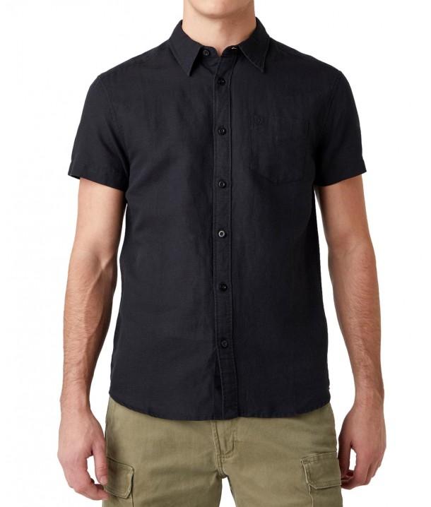 Koszula Wrangler SS 1PKT SHIRT W5J7 Black