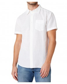 Koszula Wrangler SS 1PKT SHIRT W5J7 White
